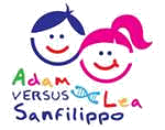 Adam and Lea Versus Sanfilippo Logo